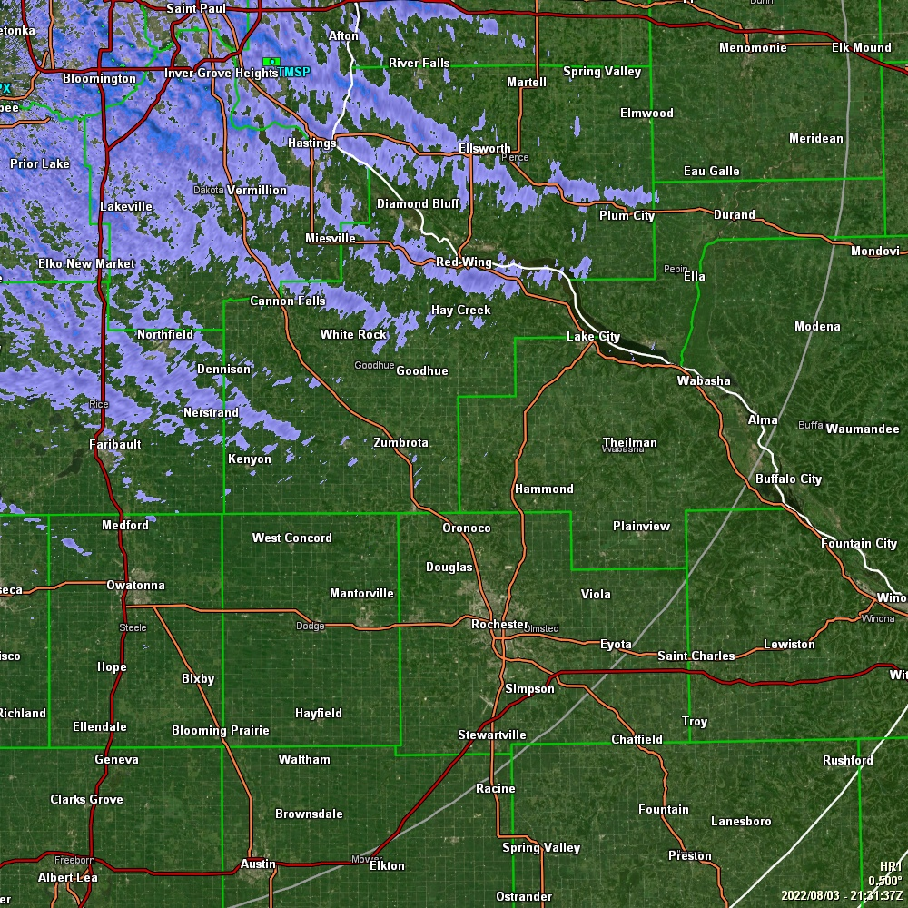 GRLevel3 radar from NWS station KMPX